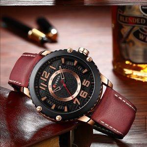Men's Unique Quartz Wristwatch 1000001500